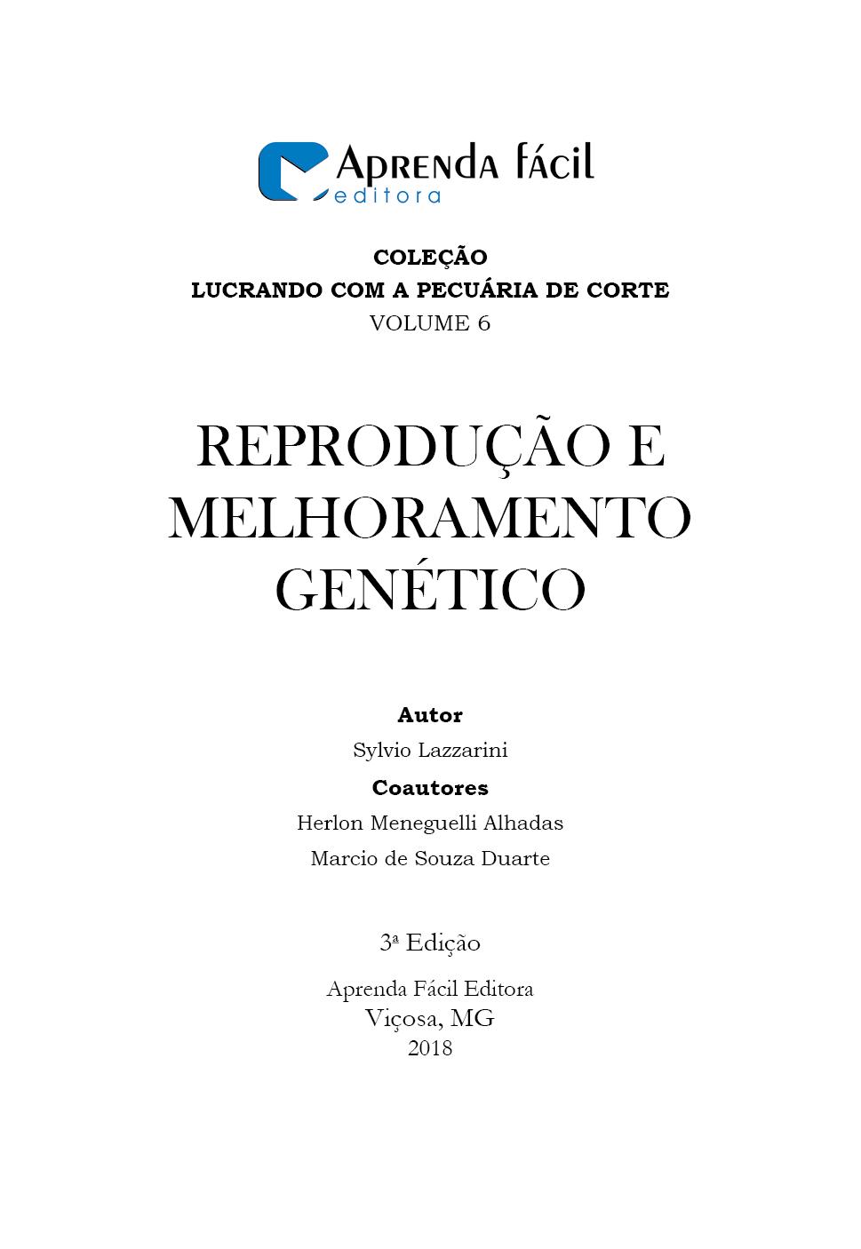 Reprodução e Melhoramento Genético - Na Pecuária de Corte