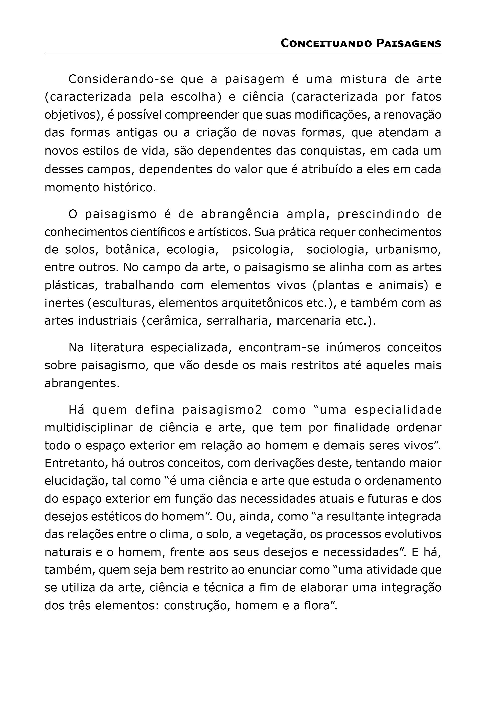 Paisagismo - Princípios Básicos