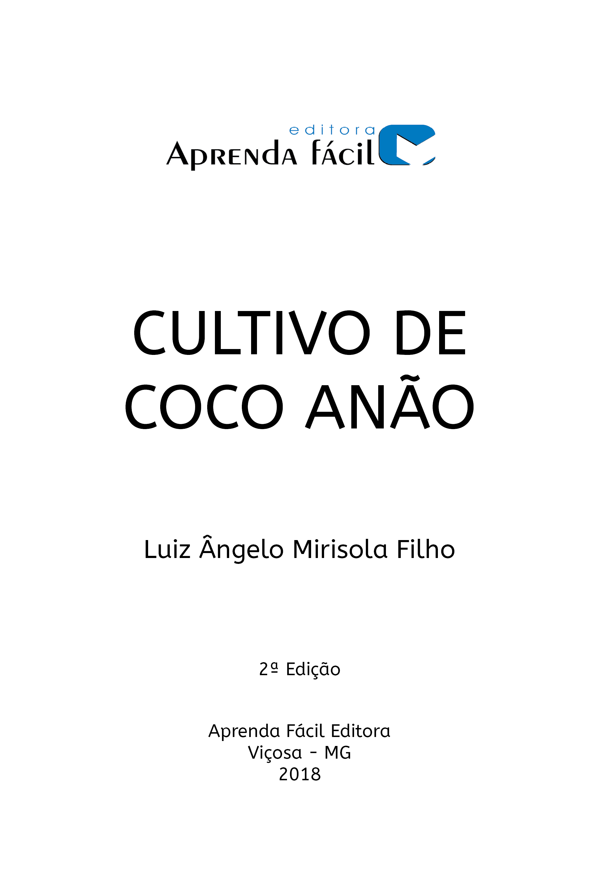 Cultivo de Coco Anão