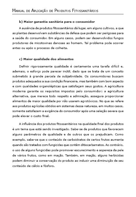 Manual de Aplicação de Produtos Fitossanitários
