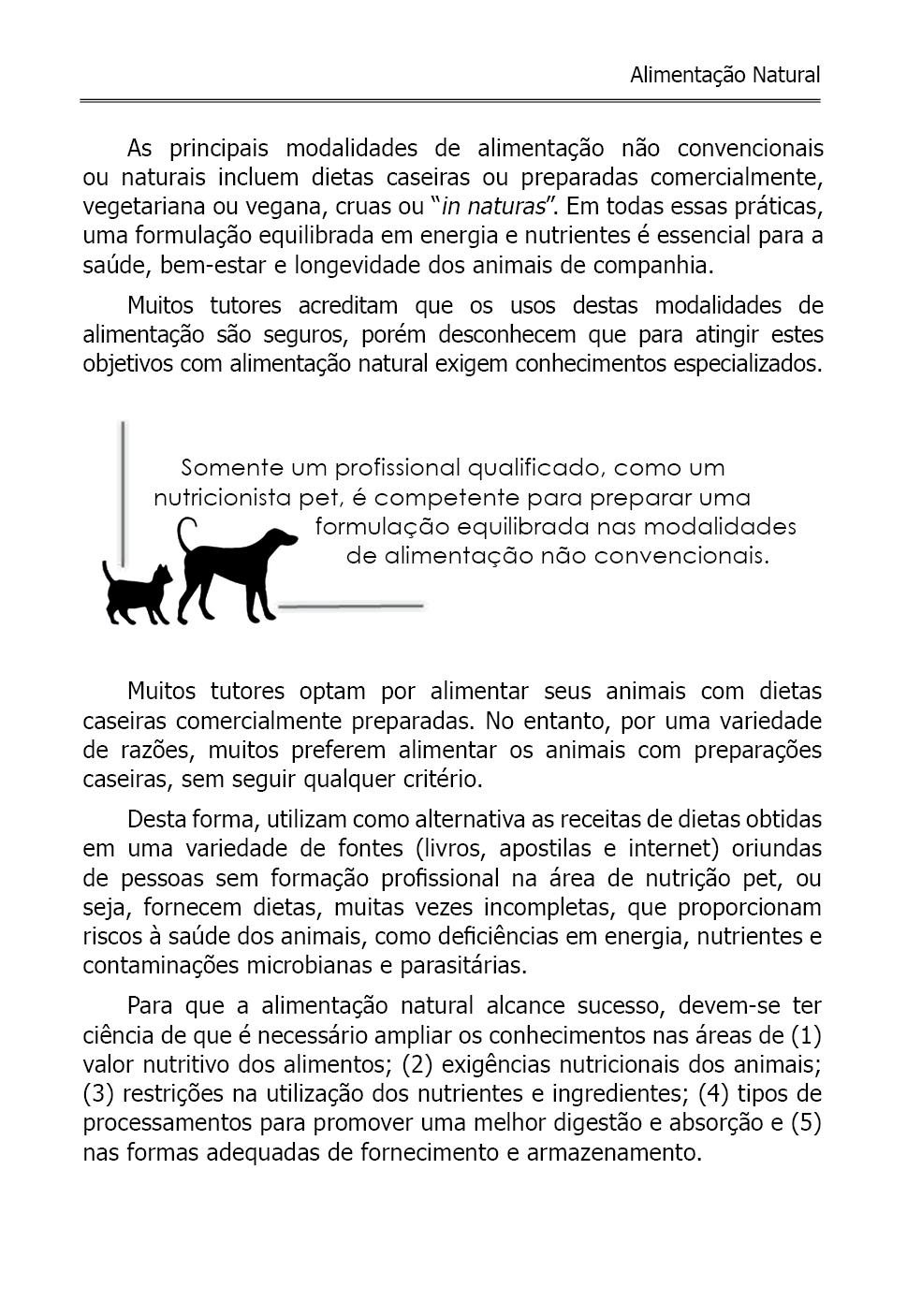 Nutrição e Alimentação de Cães e Gatos