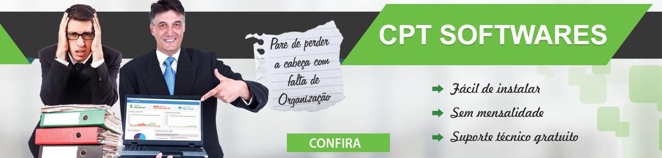 Pare de perder a cabeça com falta de organização. CPT Softwares!