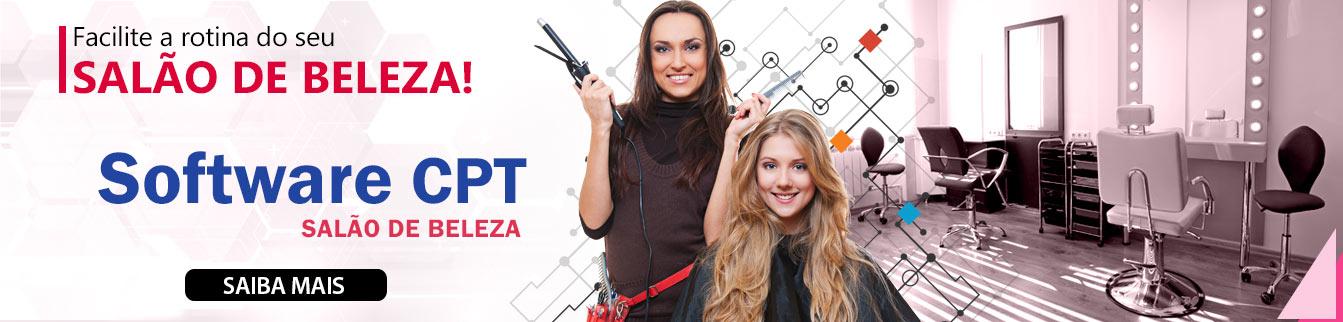 Facilite a rotina do seu Salão de Beleza! Software CPT Salão de Beleza.