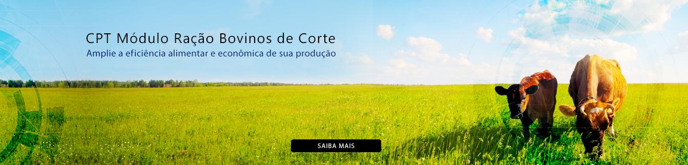 CPT Módulo Ração Bovinos de Corte - Amplie a eficiência alimentar e econômica de sua produção