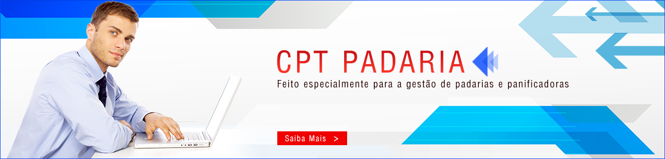 CPT Padaria - Feito especialmente para a gestão de padarias e panificadoras