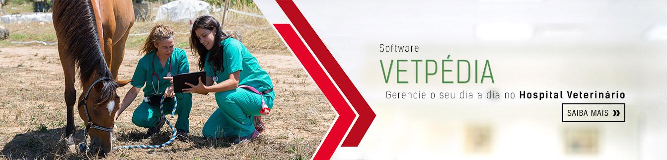 Software Vetpédia: gerencie o seu dia a dia no hospital veterinário.