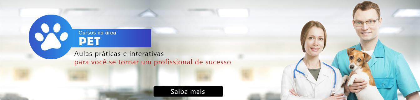 Cursos na área PET - Aulas práticas e interativas para você se tornar um profissional de sucesso!