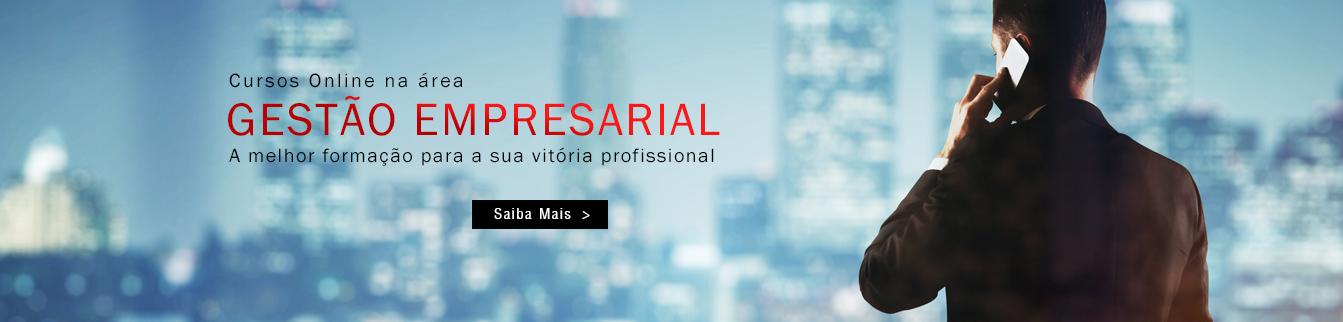 Cursos Online na área Gestão Empresarial