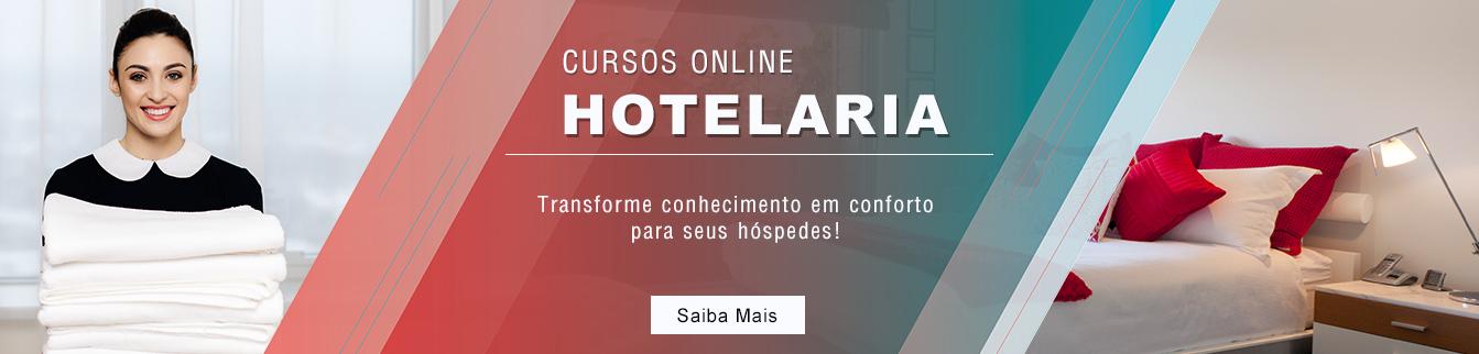 Cursos Online em Hotelaria!