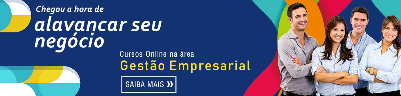 Chegou a hora de alavancar seu negócio! Cursos Online na área Gestão Empresarial.