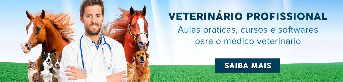 Veterinário Profissional - Aulas práticas, cursos e softwares para médico veterinário